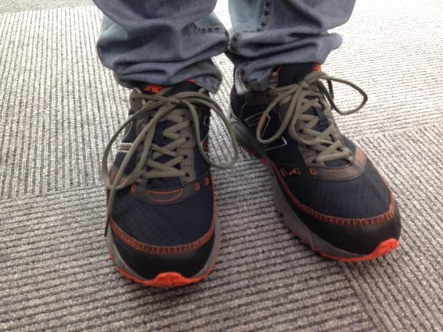 浪川さん靴