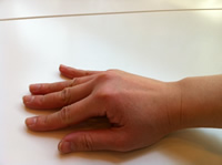 【外反母趾対策には 横アーチのサポートが大切】横アーチをしっかりと作れている状態