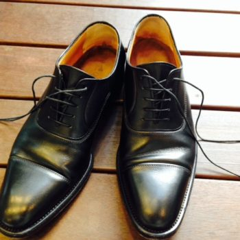 革靴も快適に履けています!
