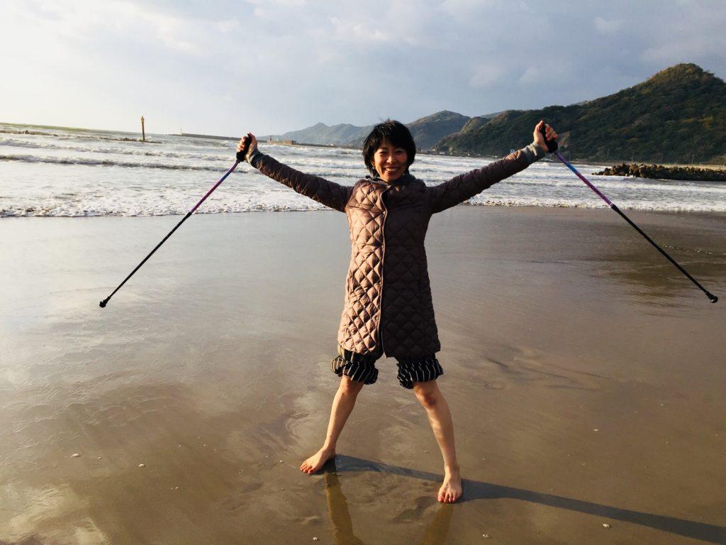 image-【出雲・稲佐浜でアーシング】 | オーダーインソールのクイスクイス